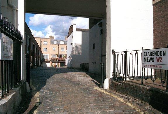 Clarenden Mews, Connaught Village, Bayswater, London, W2